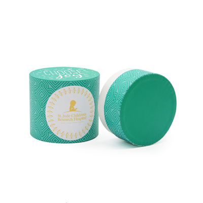 China Handmade Round Branded Gift Boxes With Logo For Tea / Cosmetics / Candle Packing distributor