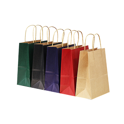 China Emboss Branded Paper Bags Shopping Drawstring Clothing Tote Paper Carry Bag distributor